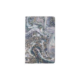 Marble Effect Stylish Moleskine Pocket Notebook
