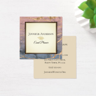 Marble Executive Square Business Card