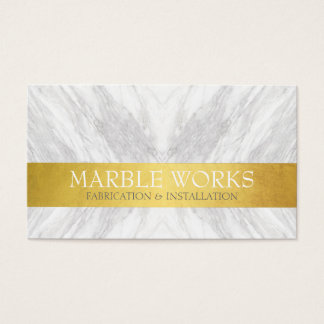 Marble Fabrication Installation Works Gold Card