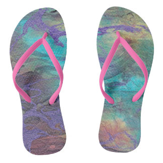 Marble Flip Flops