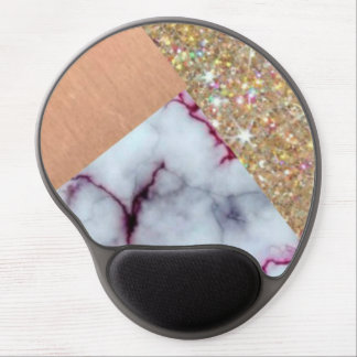 Marble Glitter| Gel Mouse Pad