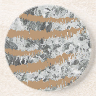 Marble&gold Drink Coasters