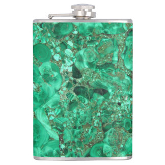 MARBLE GREEN HIP FLASK
