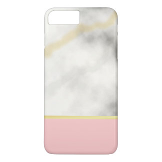 Marble Iphone Case With A Golden Touch