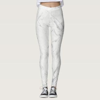 Marble Leggings pants sleek