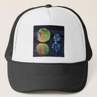 Marble Light Trucker Hat