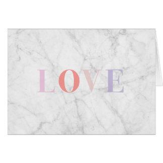 Marble Love Card
