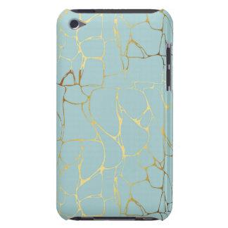 marble,mint,gold,modern,trendy,beautiful,chic,eleg iPod Case-Mate case