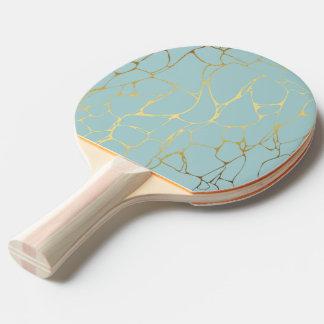 marble,mint,gold,modern,trendy,beautiful,chic,eleg ping pong paddle