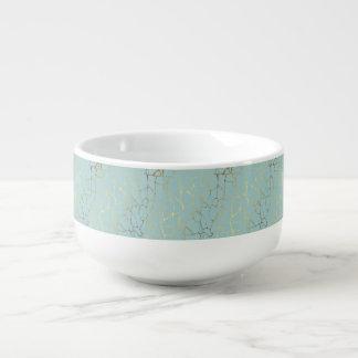 marble,mint,gold,modern,trendy,beautiful,chic,eleg soup mug