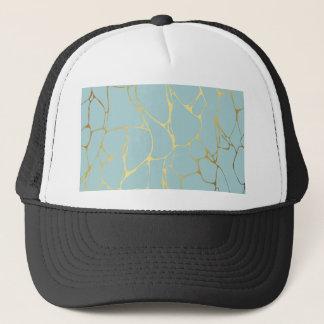 marble,mint,gold,modern,trendy,beautiful,chic, trucker hat
