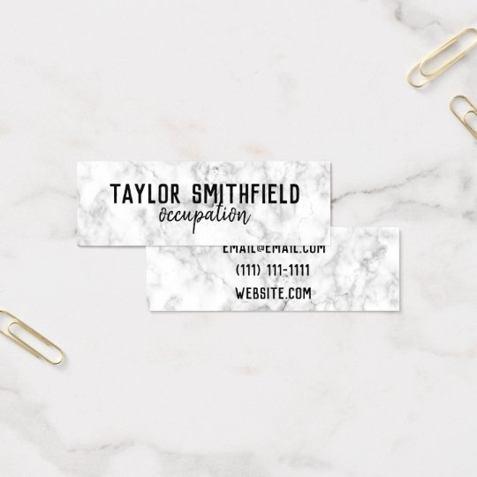 marble modern trendy grunge hipster business card