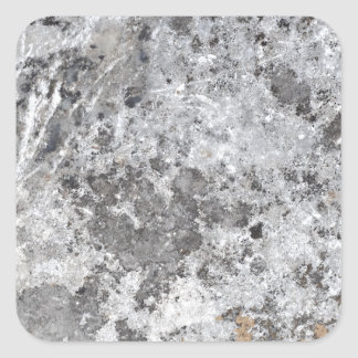 Marble mold texture square sticker