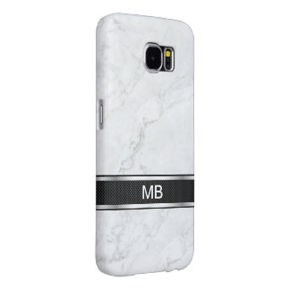 Marble Monogram Business Professional Samsung Galaxy S6 Cases