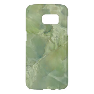 Marble Moss Green Neutral Slate Stone Samsung Galaxy S7 Case