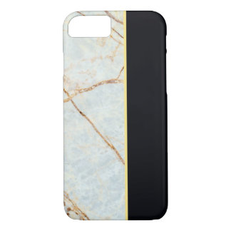 Marble (Off White & Black) iPhone 8/7 Case
