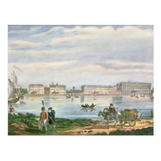 Marble Palace and Neva Embankment St. Postcard