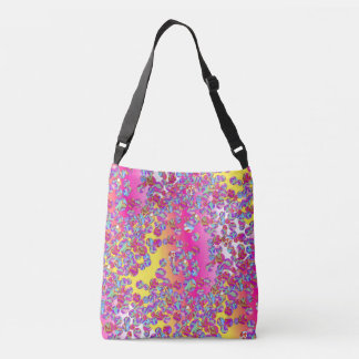Marble Patch 1 Solarized Cross Body Tote Bag