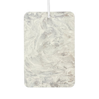 Marble pattern car air freshener