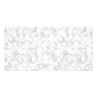 Marble Pattern Gray White Marbled Stone Background Card