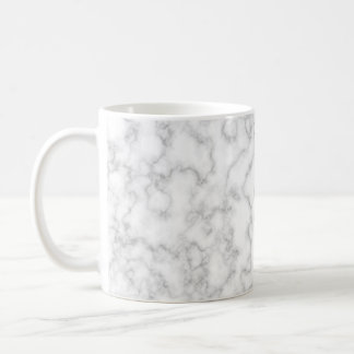 Marble Pattern Gray White Marbled Stone Background Coffee Mug