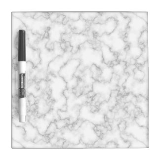 Marble Pattern Gray White Marbled Stone Background Dry Erase Board