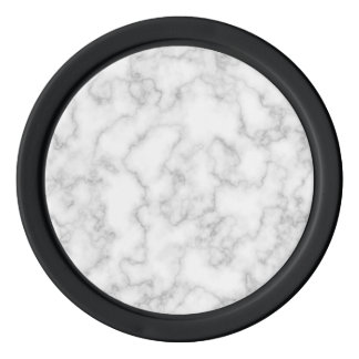 Marble Pattern Gray White Marbled Stone Background Poker Chips