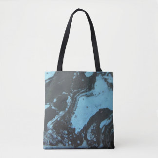 Marble Pattern Re-Usable Grocery Bag