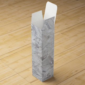 Marble pattern wine box