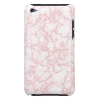 marble pink iPod touch cases