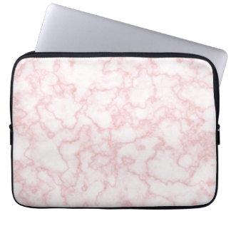 marble pink laptop sleeves