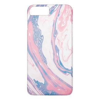 Marble print phone case