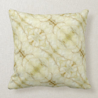 Marble quality look throw pillow