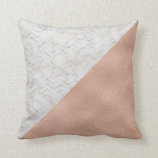 Marble & Rosegold Pillow