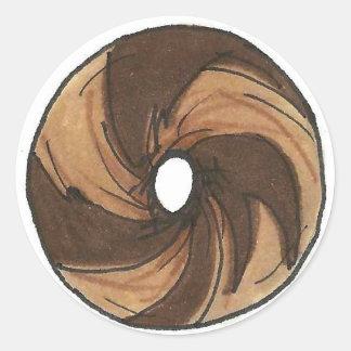 Marble Rye Bagel Stickers