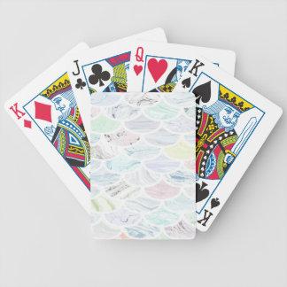 Marble Scallop Poker Deck