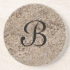 Marble Series--Tan Brn coaster--1 of Many Colours Coaster