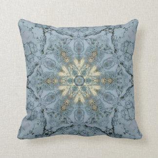 Marble star throw pillow