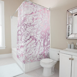 Marble Stone Abstract White Carrara Amethyst Pink