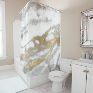 Marble Stone Abstract White Gray Silver Gold Carra