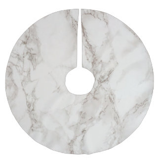 Marble Stone Brushed Polyester Tree Skirt