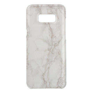 Marble Stone Clearly Samsung Galaxy S8+ Case