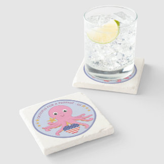 Marble Stone Coaster Octopus For A Preemie US