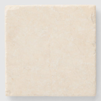 Marble Stone Cream Neutral Tile Background Blank Stone Coaster