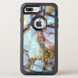 Marble Stone Gold Texture | Fashion and Stylish OtterBox Defender iPhone 7 Plus Case