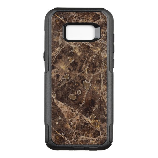 Marble Stone In Brown Colour OtterBox Commuter Samsung Galaxy S8+ Case