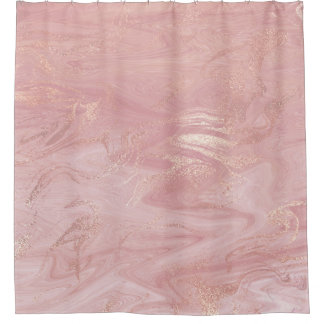 Marble Stone Molten Gold Abstract Pink Rose Gold