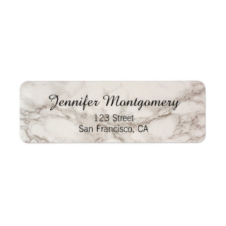 Marble Stone Return Address Labels