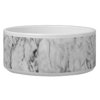 Marble Texture Dog Water Bowls