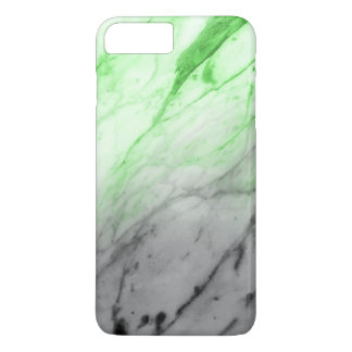 Marble Texture (Grey Glowing Green) Case-Mate iPhone Case